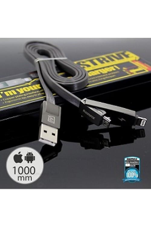 สาย USB Remax  2in1 STRIVE